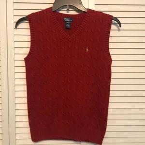 Polo by Ralph Lauren Deep Red Vest